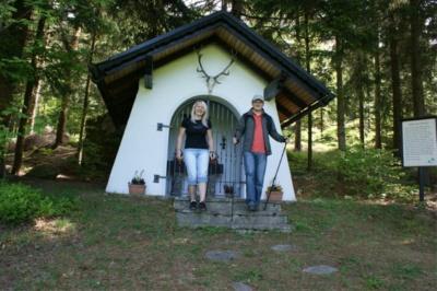 Die Hubertuskapelle der Jägerschaft St. Georgen am Walde